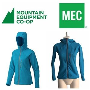 MEC Khamsin Hoodie Soft Cozy Fleece on Interior ❤️